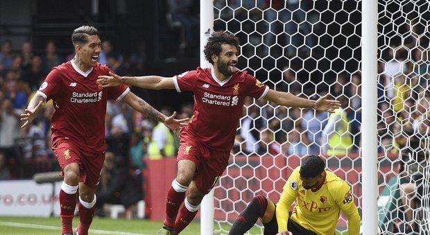 Chelsea sconfitto in casa dal Burnley, segna Salah ma il Liverpool fa pari con il Watford