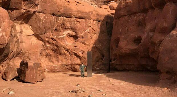 Scomparso il monolite nello Utah: forse è opera di un artista morto nove anni fa