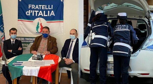 Reggio Emilia, Fratelli d'Italia presenta l'ex leghista Vinci: multati tutti i presenti per assembramento