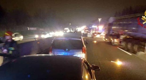 Maxi incidente sull'autostrada A1: chiuso tratto da Roma verso Napoli