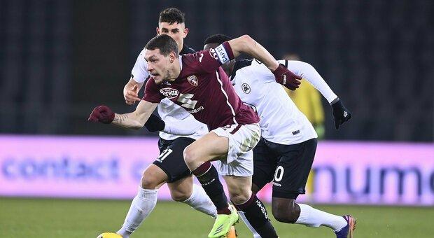 """Torino, triste pareggio contro lo Spezia. Resta il tabù """"Grande Torino"""""""