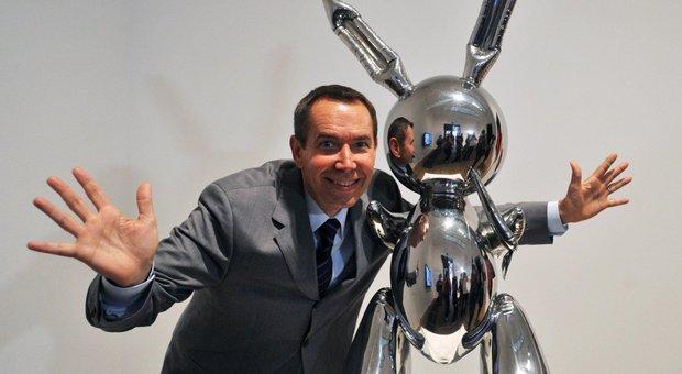 Il coniglio di Koons venduto all'asta per oltre 90 milioni di dollari
