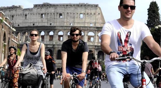 A Roma in bicicletta? Preferisco vivere