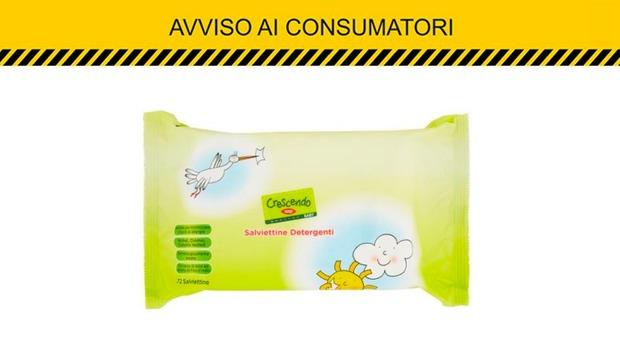 Salviette detergenti per i bimbi difettose: l'avviso della Coop