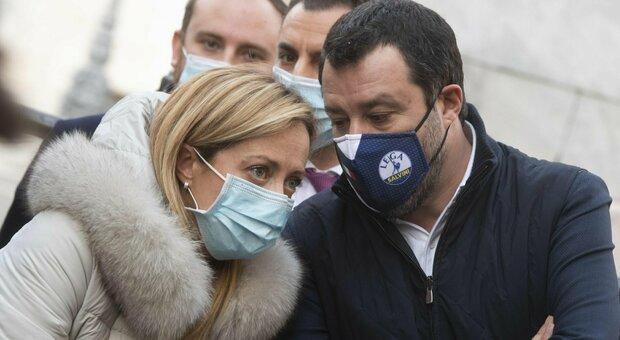 Amministrative, Meloni scrive a Salvini: «Mai posto veti a candidature». Mercoledì il vertice