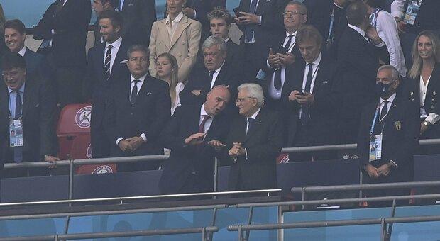 Italia-Inghilterra, l'esultanza di Mattarella fa impazzire i social: «Sembra Pertini!»