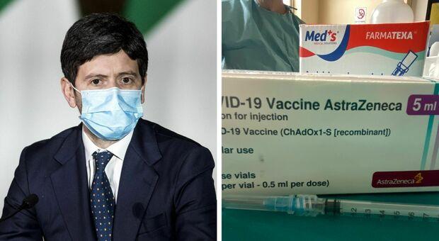 Vaccino, Speranza: «Astrazeneca va bene per tutte le fasce generazionali». E apre a Sputnik