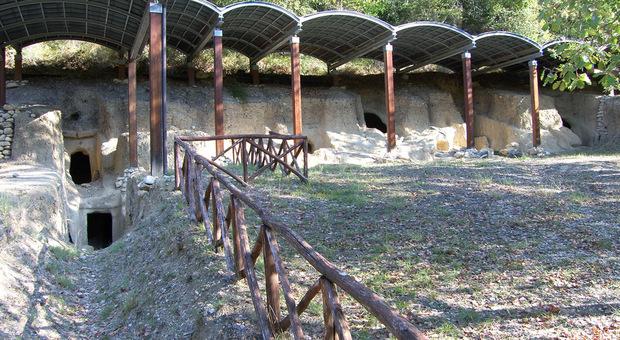 Montecchio, la necropoli del Vallone restituisce i resti di un principe.