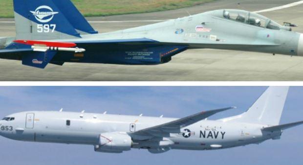 Aereo Da Combattimento Russo : Mar nero caccia russo allontana aereo da ricognizione usa