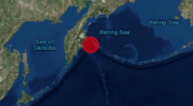 Russia : fortissima scossa di terremoto a largo della Kamchatka, lanciato allarme tsunami