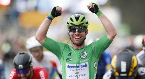 Tour de France, Cavendish cala il tris! E domani c'è il doppio Ventoux