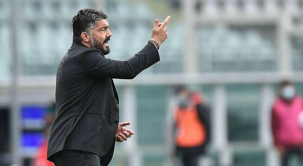 Napoli, esame Champions contro lo Spezia: Gattuso punta su Osimhen