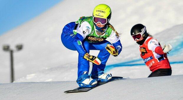Snowboard cross, Michela Moioli prima a Reiteralm. Quarta una sfortunata Brutto