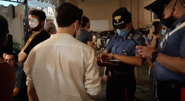 San Lorenzo, controlli contro la movida: due esercizi sanzionati dai Carabinieri