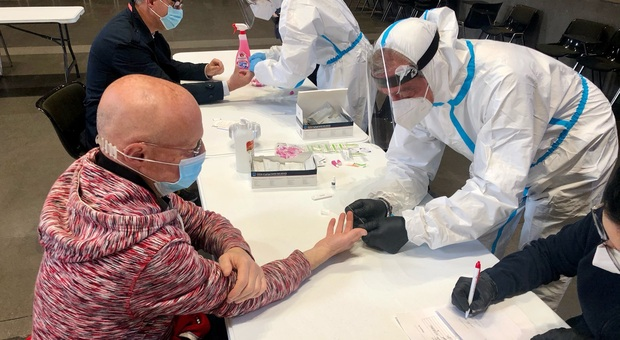 Orvieto, nuova campagna screening con test seriologico rapido aperta a tutta la cittadinanza. Vaccinazioni 9000 le dosi somministrate