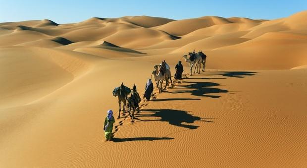 Il deserto del Sahara era popolato e ricco di vegetazione. Lo dice il Dna