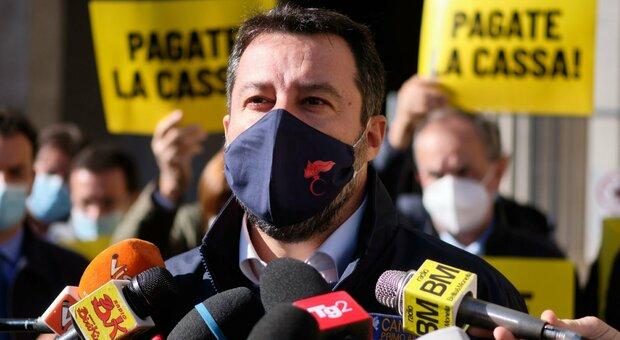 Salvini: «Conte preferisce parlare con Fedez e Ferragni, con me solo un minuto»