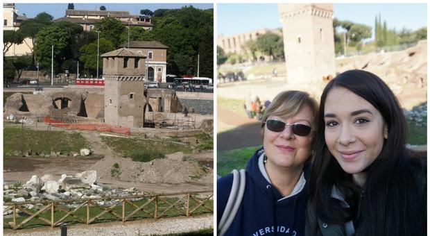 Roma, l'ultima inquilina del Circo Massimo: «La Torre della Moletta era casa mia»