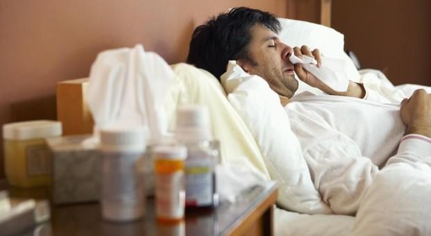 Influenza: oltre un milione e mezzo di italiani a letto