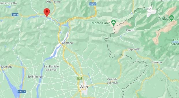 Terremoto a Udine di 3.4 avvertito in tutta la zona