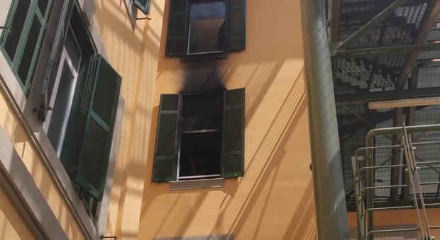 Incendio San Camillo, «Ho visto le fiamme e pezzi di ferro schizzare dalle finestre»