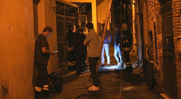 Rieti, incendio in una casa uomo trovato morto fermate due persone/Foto