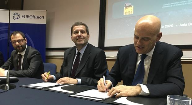 Eni ed Enea, firmata l'intesa da 600 milioni per il progetto Dtt