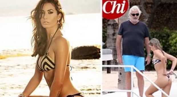 Flavio Briatore stroncato da Eli Gregoraci: «Benedetta Bosi baby fidanzata? Fa rabbrividire»