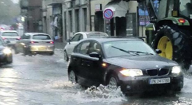 Pioggia e vento, il Viterbese in ginocchio. A Civita ...