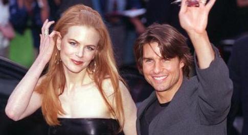 Nicole Kidman e Tom Cruise ai tempi del loro matrimonio