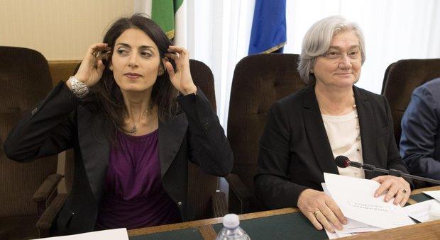 Raggi in Commissione antimafia: «Su bilancio e bandi abbiamo trovato il far west»