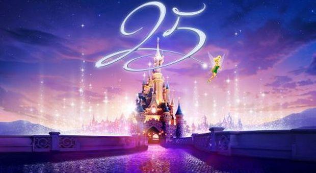 Disneyland Paris festeggia i suoi 25 anni: sconti, attrazioni e novità