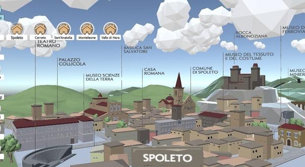 Videogioco per promuovere musei, luoghi e miti di Spoleto e Valnerina