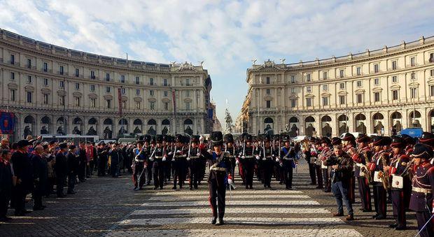 Roma, i Granatieri di Sardegna sfilano per onorare l'antica tradizione