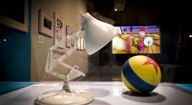 In mostra gli eroi di Pixar