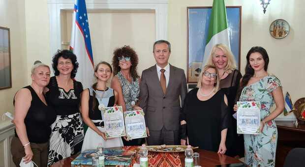 Un ponte d'arte tra l'Italia el'Uzbekistan, una giornata dedicata in ambasciata