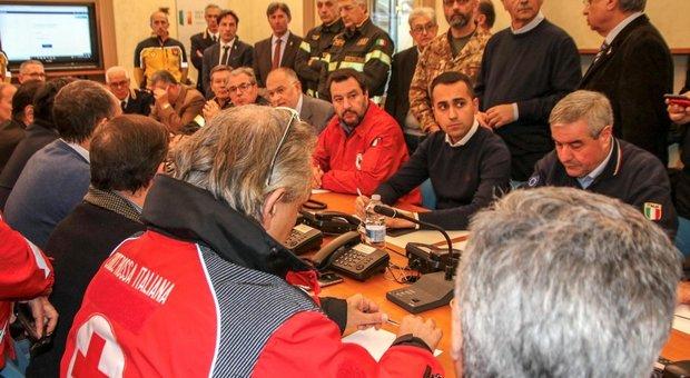 Vertice sul terremoto, Di Maio: «Stop mutui per chi ha subito danni»