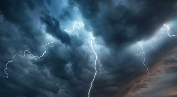 Temporali in arrivo, scatta l'allerta meteo nel Reatino