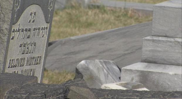 Usa, profanato cimitero ebraico e danneggiate centinaia di tombe