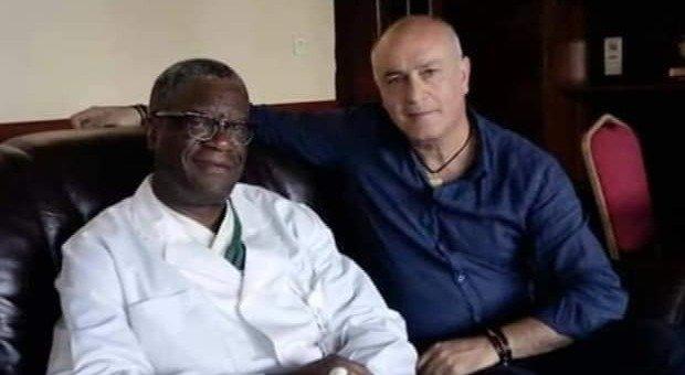 Denis Mukwege e Francesco Barone