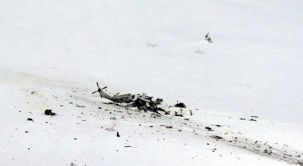 Maltempo, cade elicottero del 118 tra L'Aquila e Campo Felice