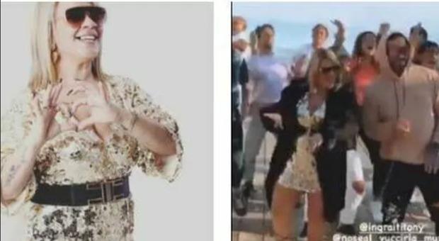 Angela da Mondello finisce in commissariato per il video della sua canzone