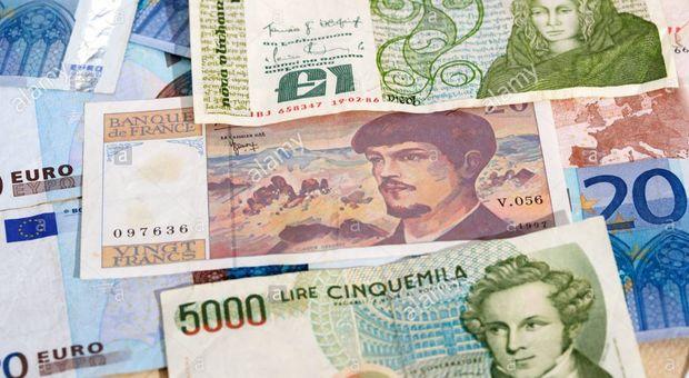 Trova tesoro milionario in lire ma non può usarlo