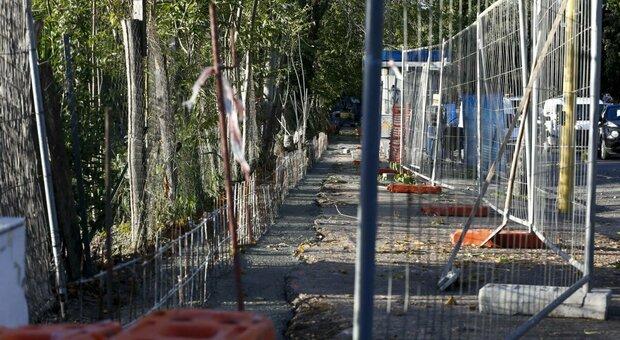 La recinzione dovrebbe scoraggiare le incursioni notturne