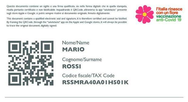 Certificato vaccinale Lazio, mezzo milione di pass scaricabili online. D'Amato: «Pronti per la green card»