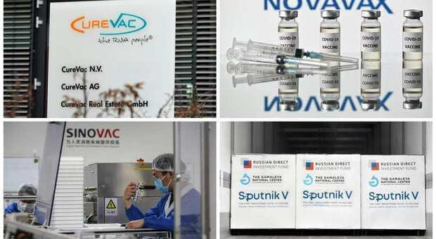 Vaccini, in arrivo CureVac, Novavax, Sinovac e Sputnik. Ema: «A breve il verdetto»
