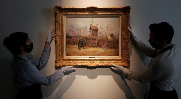 Van Gogh, dipinto venduto a 13 milioni di euro. Risale al suo periodo parigino
