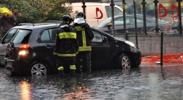 Meteo, Palermo nel caos: forti acquazzoni e strade allagate