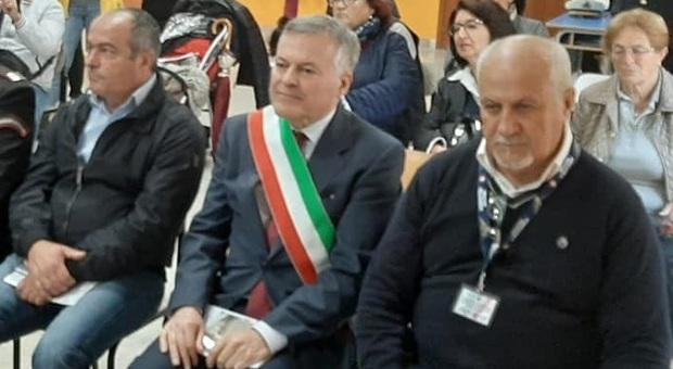 il vicesindaco De Parasis con il sindaco Bussiglieri