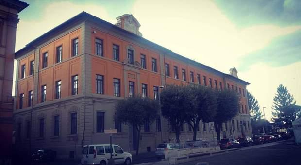 Il Liceo Classico Varrone di Rieti (foto Di Mario)
